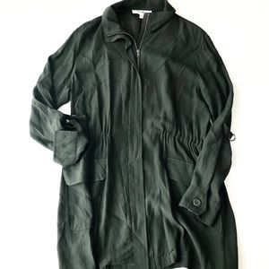 BB DAKOTA Green Utility Zip Shirt Jacket B8